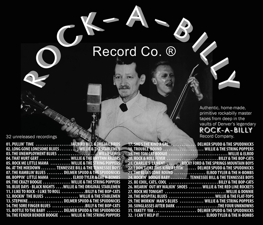 Billy & The Bop-Cats - Mary Lou Rock